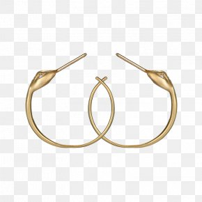Silver - Earring Body Jewellery Material Silver PNG