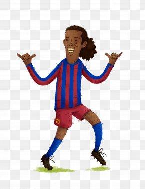 Fc Barcelona - FC Barcelona Brazil National Football Team Paris Saint-Germain F.C. Drawing Football Player PNG