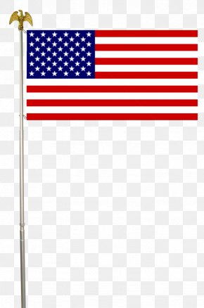 Pole - Flag Of The United States American Civil War Flagpole PNG