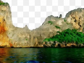 Water Resources Coastal And Oceanic Landforms - Natural Landscape Body Of Water Nature Cliff Formation PNG