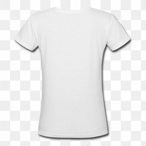White T-shirt - T-shirt Amazon.com Top Clothing Neckline PNG
