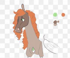 Oh My God - Mustang Mane Cat Clip Art PNG
