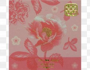 Wedding Invitation Red - Floral Design Paper Greeting & Note Cards Wallpaper PNG