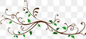 Branch Clip Art - Twig Plant Stem Branch Clip Art PNG