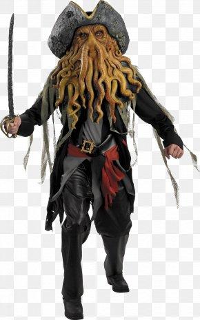 Pirate - Davy Jones Jack Sparrow Captain Hook Piracy Costume PNG