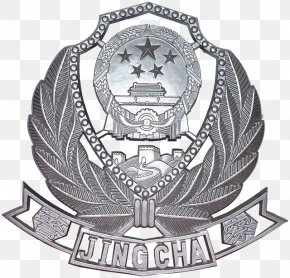Police Badge - Peoples Police Of The Peoples Republic Of China U4e2du534eu4ebau6c11u5171u548cu56fdu4ebau6c11u8b66u5bdfu8b66u5fbd Police Officer Chinese Public Security Bureau PNG