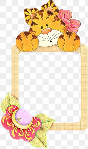 Yellow Picture Frame - Picture Frame PNG