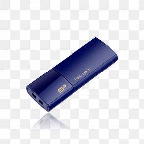 Usb Flash - USB Flash Drives USB 3.0 Diamond-cutting USB Flash Drive Blaze B30 Hard Drives Silicon Power PNG