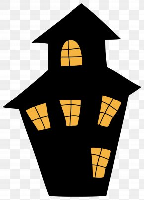Horror House Cliparts - Haunted Attraction Halloween House Clip Art PNG
