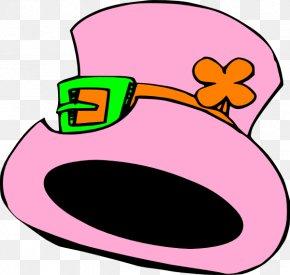 Easter Hat Cliparts - Leprechaun Saint Patrick's Day Clip Art PNG