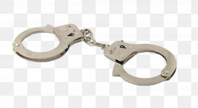 Download Clipart Handcuffs - Police Officer Arrest Crime Court PNG