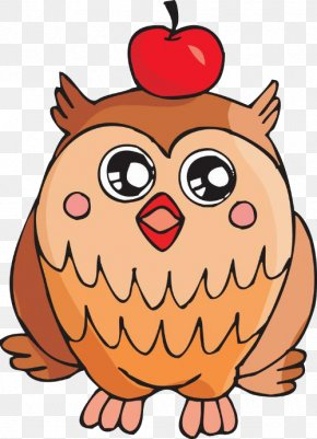 Owl - Pre-school Education Academic Certificate Clip Art PNG