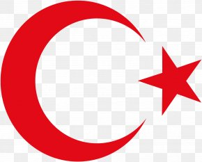 Crescent Moon And Star Pictures - Flag Of Turkey National Emblem Of Turkey National Flag PNG