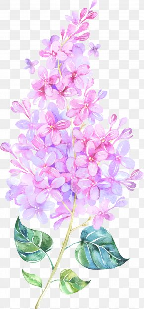 Floating Flower - Paper Watercolor Painting Flower Clip Art PNG
