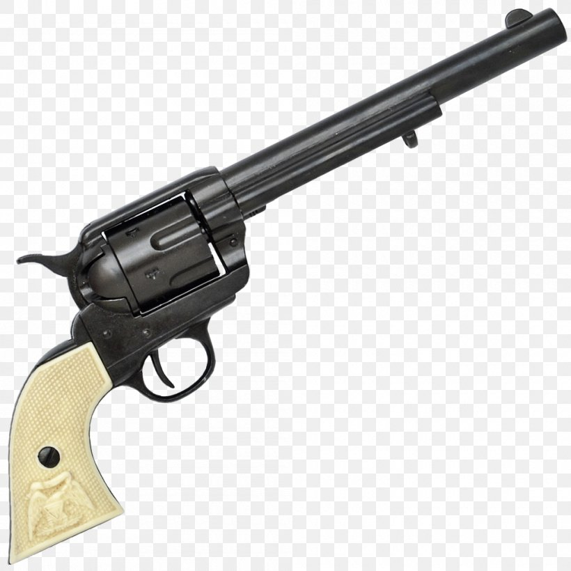 Colt Single Action Army .45 Colt Colt's Manufacturing Company Revolver .45 ACP, PNG, 1000x1000px, 45 Acp, 45 Colt, Colt Single Action Army, Air Gun, Airsoft Gun Download Free