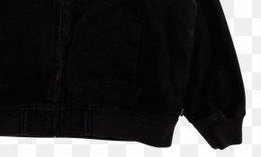 Adidas Black Jacket With Hood - Hoodie Outerwear Zipper Jacket PNG