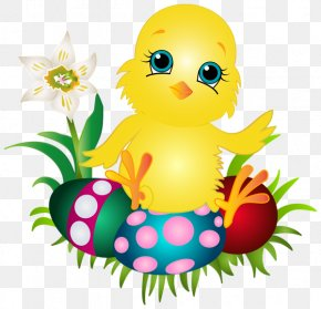 Easter Bunny - Chicken Easter Bunny Clip Art PNG