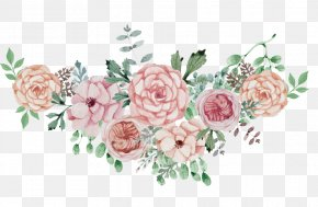 Watercolor Flowers Flower Cluster - Poster Wedding Flower PNG