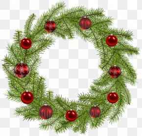 Gold Wreath - Christmas Ornament Christmas Decoration Wreath Clip Art PNG