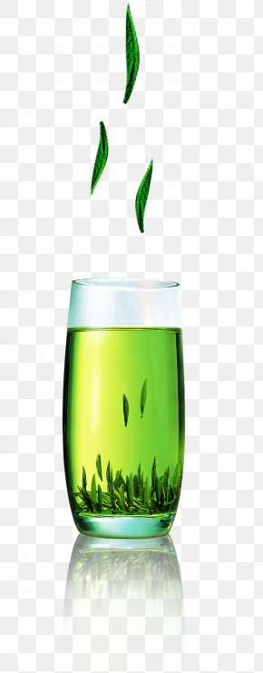 Green Tea Decorative Pattern - Liquid Drink Green PNG