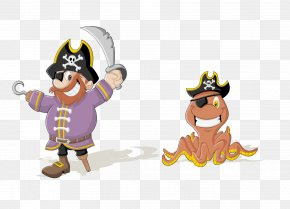 Vector Cartoon Pirate Material - Piracy Drawing Clip Art PNG