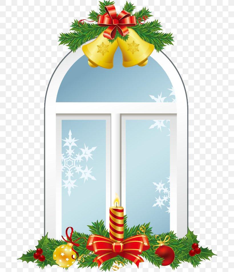 Window Christmas Ornament Christmas Day Vector Graphics Image, PNG, 702x954px, Window, Blue Christmas, Christmas, Christmas Day, Christmas Decoration Download Free
