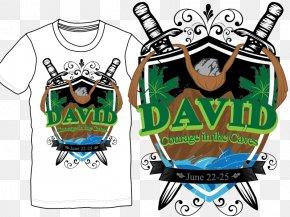 T-shirt - Printed T-shirt Logo Graphic Design PNG