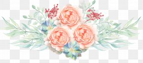 Watercolor Flowers - Watercolor Painting Flower Illustration PNG