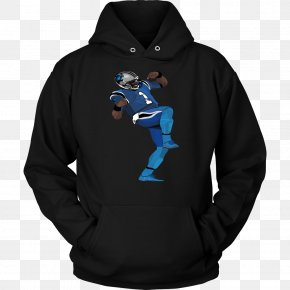 Cam Newton - Hoodie T-shirt Unisex Clothing Sweater PNG