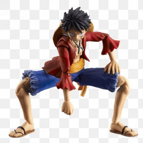 Action Figure - Monkey D. Luffy Action & Toy Figures Action Hero Model Figure One Piece PNG