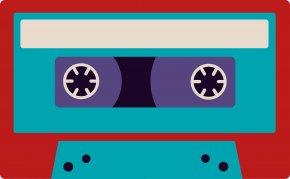Audio Cassette - Compact Cassette Mixtape Clip Art PNG