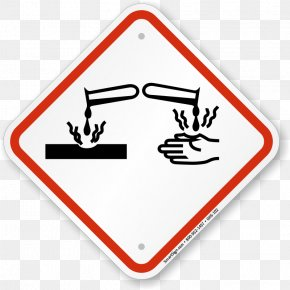 Hazard Sign Images - GHS Hazard Pictograms Globally Harmonized System Of Classification And Labelling Of Chemicals Hazard Communication Standard Safety Data Sheet PNG