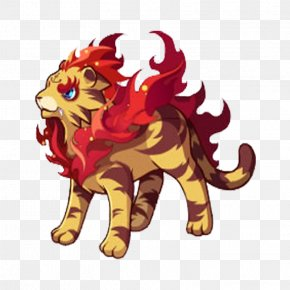 Good Little Fire Tiger - Lion Tiger U6d1bu514bu738bu56fd Chinese Zodiac PNG
