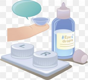 A Drug That Lowers Blood Sugar - Contact Lens Glasses PNG