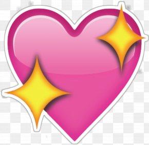 Emoji - Emoji Heart Sticker Clip Art PNG