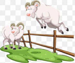 Hurdle Goat - Goat Royalty-free Clip Art PNG