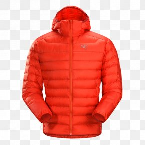 Arc'teryx - Hoodie Arc'teryx Jacket Down Feather Clothing PNG
