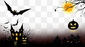 Halloween Posters Transparent Background - Halloween Computer File PNG