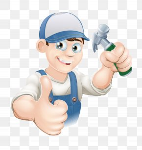 A Hammer Installers - Hammer Construction Worker Clip Art PNG