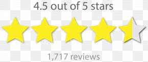 5 Star - Star Review Business Vans Book PNG