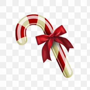Cane - Candy Cane Stick Candy Christmas PNG