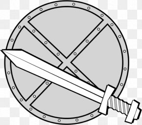 Shield - Shield Weapon Sword Clip Art PNG