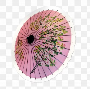 Japanese Paper Clip - Oil-paper Umbrella Oil-paper Umbrella Auringonvarjo PNG
