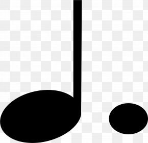 Musical Note - Quarter Note Dotted Note Musical Note Eighth Note Clip Art PNG