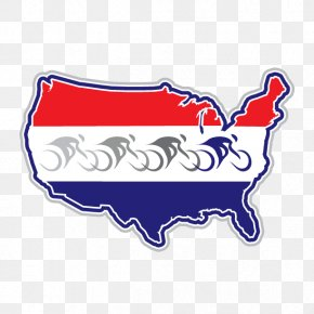 Ride Across America - America By Bicycle Clip Art Rail Trail Bicycles Inc PNG