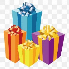 Gift - Christmas Gift Candle PNG