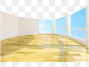 Blue Sky And Floor To Ceiling Windows - Window Floor Interior Design Services Wall PNG