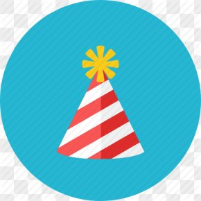 Party Icon - Party Hat Birthday PNG