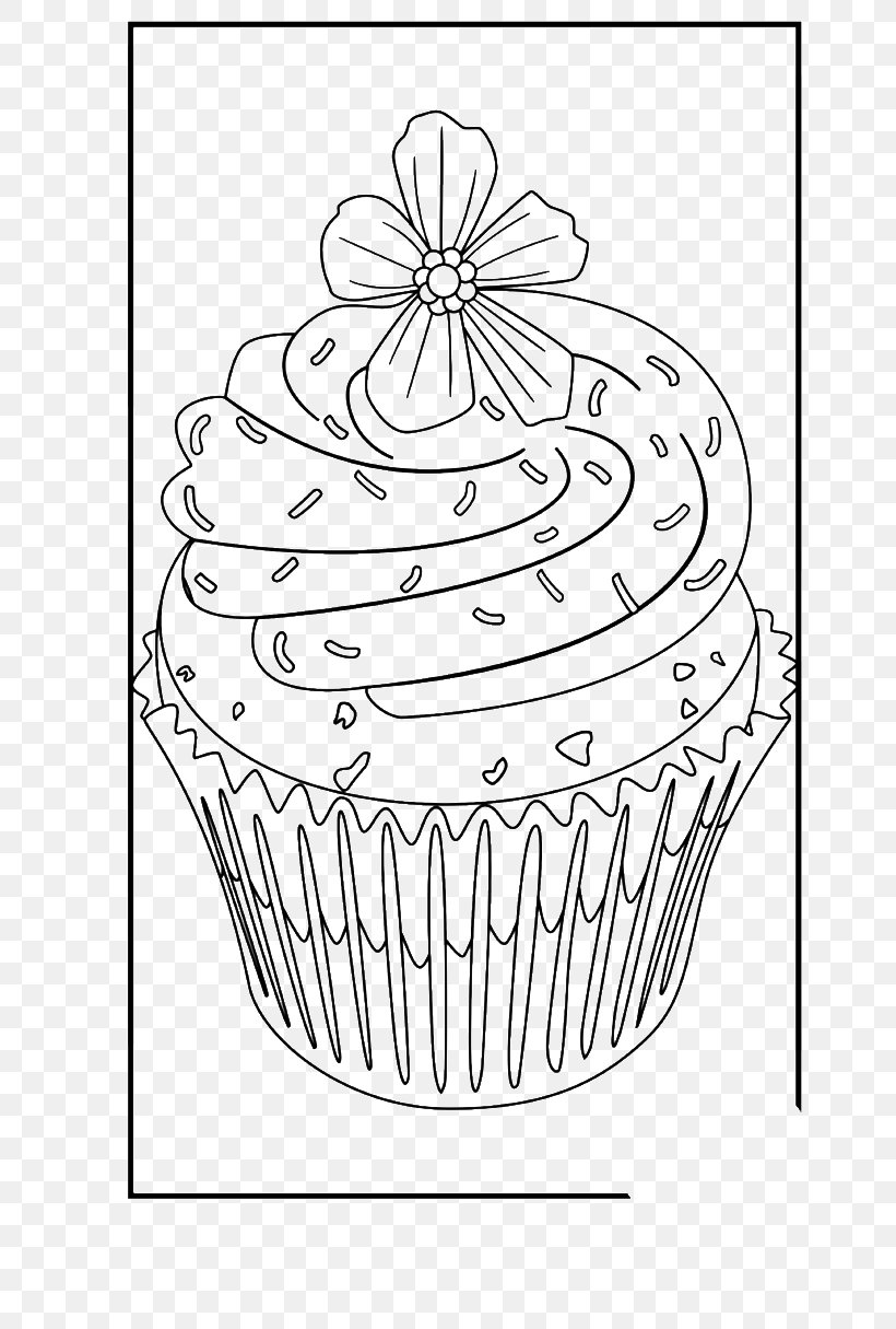 Free Printable Cupcake Coloring Pages For Kids | 1215x820