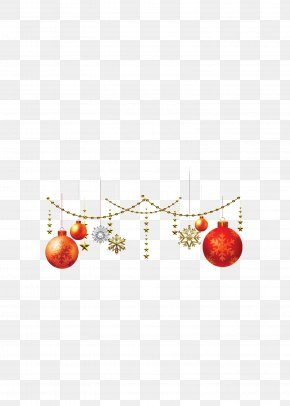 Christmas Decoration Balls - New Year's Day Christmas Ornament PNG